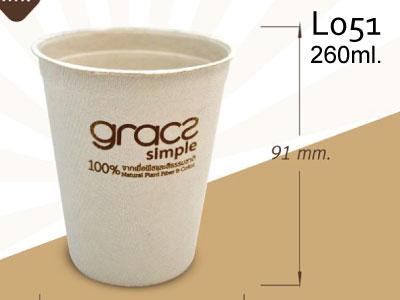 แก้วน้ำ 260 มล. L051 [ GRACZ SIMPLE ]